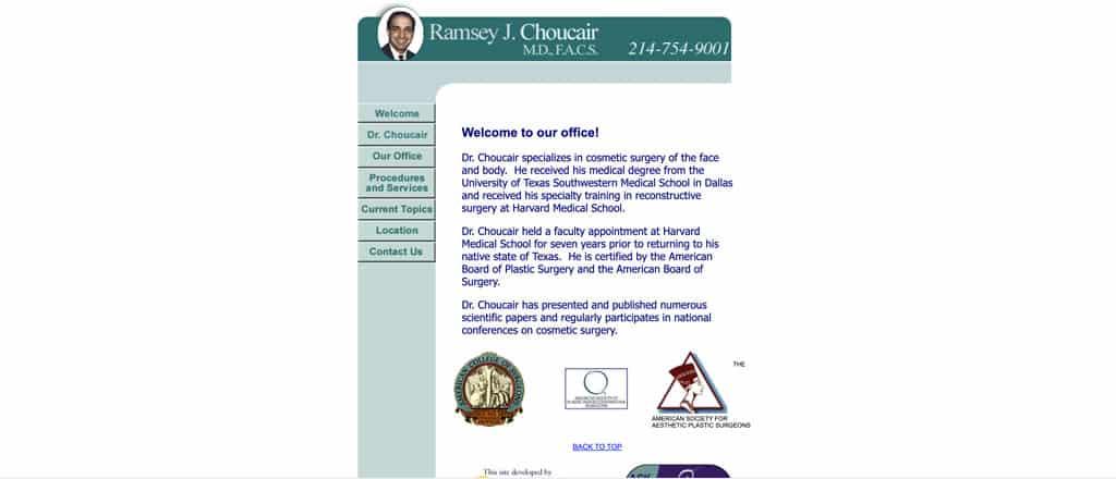 Dr. Choucair